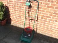 QUALCAST HOVER MOWER IN GOOD WORKING ORDER BARGAIN £15.00