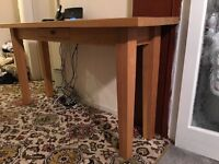 Large consol table