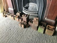Old vintage 56lb weights and smaller also available