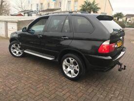2003 BMW X5 D M SPORT BLACK FULL SERVICE HISTORY NICE CONDITION