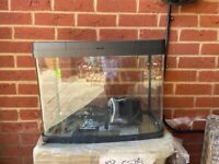 Fish Tank 40L with heater and pump filter