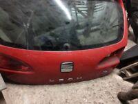 Seat Leon fr mk2 boot lid 06-09