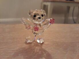 Swarovski Kris Bear - flowers for you