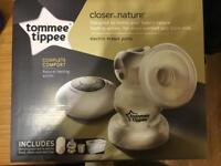 Tommee Tippee electric breast pump- plus manual pump as extra