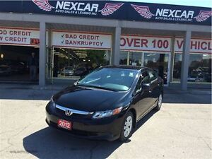 2012 Honda Civic LX 5 SPEED A/C CRUISE ONLY 121K