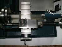Cowells ME90 lathe and accessories