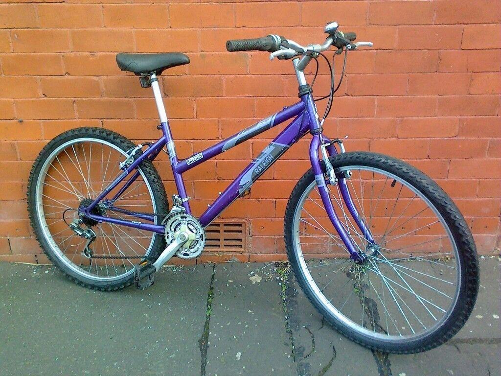 ad81100722a Raleigh Mountain Bike - Aluminium frame , ready to ride . | in Gorton ...