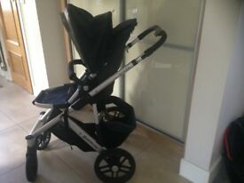 UPPAbaby Vista in blue plus extras