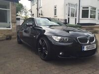 2009 BMW 3 series 330i Convertible Auto. Mint condition. Recent MOT and service. M4 alloys