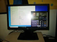 HP Monitor 20-inch LED widescreen, VGA,DL,DVI, perfect working order