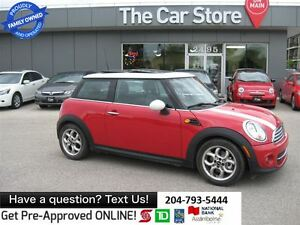 2012 MINI Cooper PANA SUNROOF, HTD LEATHER SEATS, BLUETOOTH, USB