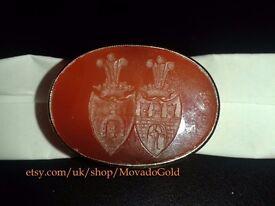Antique Intaglio Seal Ring half of 19th century