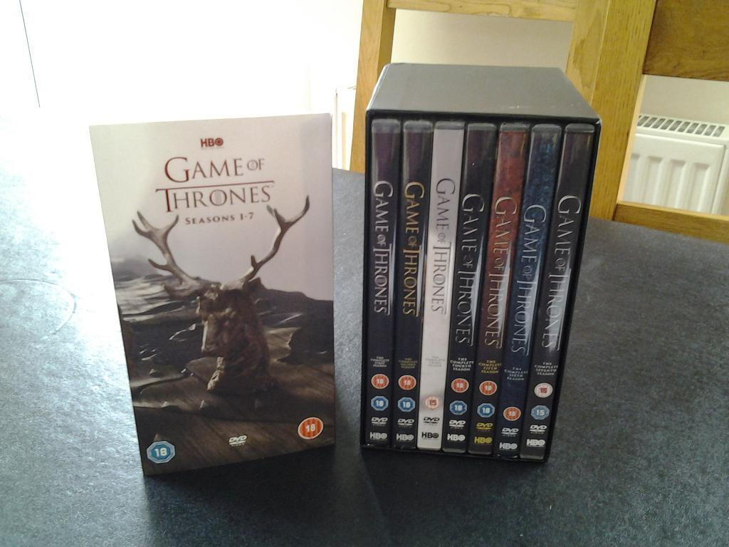 Game Of Thrones Season 1-7 Blu-Ray Box Set Unboxing