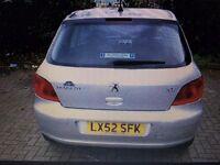 Peugeot 307 SW 1.6 Rapier 16v 5dr [AC]