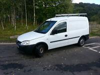 2003 Vauxhall Combo Van, 1.7 Diesel, Long Test, Roof Rack, Ready for Work