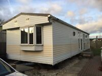 Cosalt Monaco static caravan doulble glazed and gas central heating
