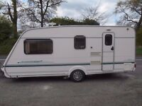 2002 Abbey Aventura 4 berth with motor movers £4200