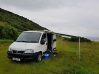 Fiat Ducato Campervan / Day van . Not VW, T4, T5, Ford, Transit, Bongo, Vauxhall, Renault