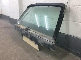E30 touring rear tail gate door ready for paint