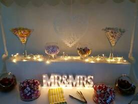 Candy cart/ venue dressing business