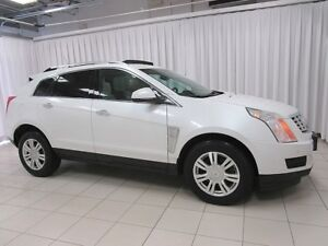 2014 Cadillac SRX AWD 3.6 LUXURY SUV WITH LEATHER INTERIOR, BLUE
