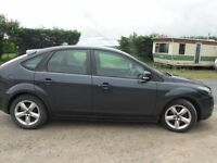*** FOCUS ZETEC CLIMATE 1.6TDCI £30 TAX YR S/H MOT APRIL 18 NO ADVISORYS NEW SERVICE NEW DISCS PADS