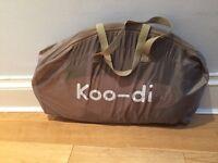 KooDi Pop up cot with mattress