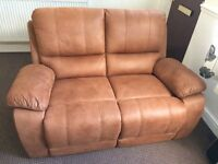 HARVEY'S 2 Seater sofa + Matching chair