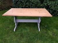 Solid pine 6 seater