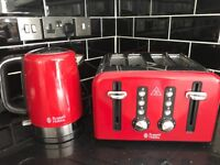 Russel Hobbs Kettle and toaster set