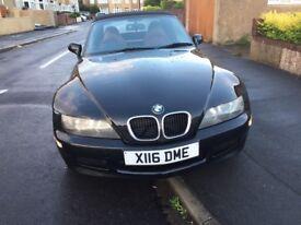 BMW Z3 1.8 ROADSTER, 1 year MOT, Very Clean, Drives Good £1550 ono
