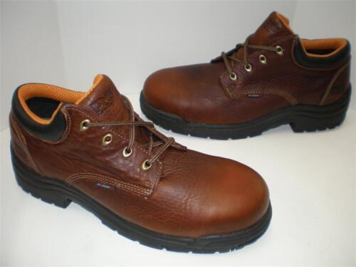 Timberland PRO Men's Titan Safety Toe Oxford,Haystack Brown,10.5 M TB047028210