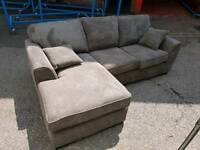 Brand new courner sofa can deliver
