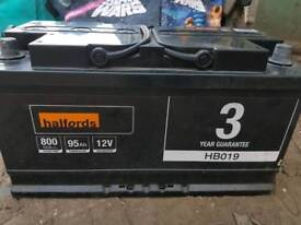 Battery for sale. Perfect working condition, 95 ahs