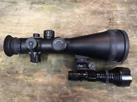 ATN Ares 6 Rifle Night Vision Scope (Not Binoculars, Zeiss, Swarovski)