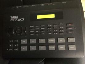 Yamaha ry30 drum machine vintage