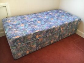 Single bed plus mattress for sale