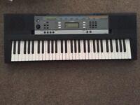 Yamaha keyboard- almost new
