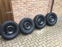 Winter tyres and wheels Ford Kuga / Volvo XC70