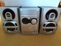 Philips MC500 Micro System with 5 CD Tray Changer