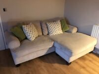 L Shape Sofa and Chair