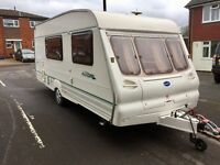 2001 Bailey Ranger 4 berth caravan with Isabella awning