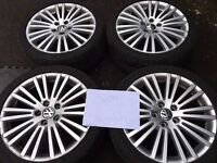 """VW (Ronal) R32 MK5 Zolder 18"""" Alloy Wheels (Not BBS, 3SDM, Fifteen52, Rotiform)"""