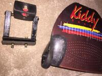 Lascal buggy board with adapter