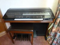 Yamaha Electone Organ with Matching Stool