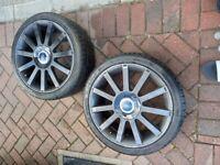Ford fiesta st st150 alloy wheels in black
