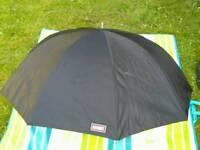 Calumet Photographic Umbrella 90cm, black , white, silver - like new