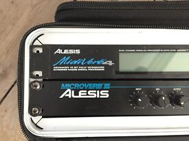 Alesis Microverb 3 and Midiverb 4