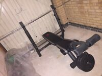 MARCY MD7502 DELUXE MID SIZE WEIGHT BENCH