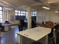 Office Space / Co-working to share in Shoreditch, available now!